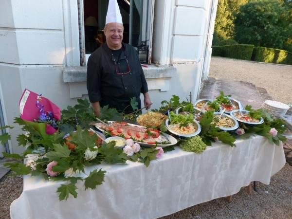 Chateau de prety garden party pascal
