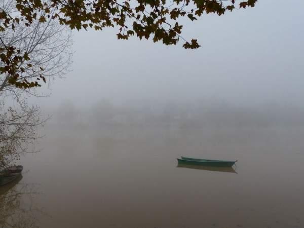 tournus-automne-saone-bateau-brouillard
