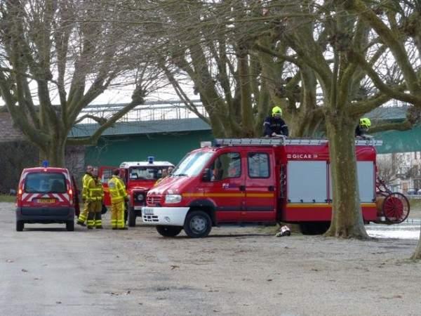Pompiers Tournus manœuvres