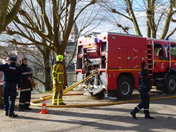 Pompiers de Tournus plus de manœuvres