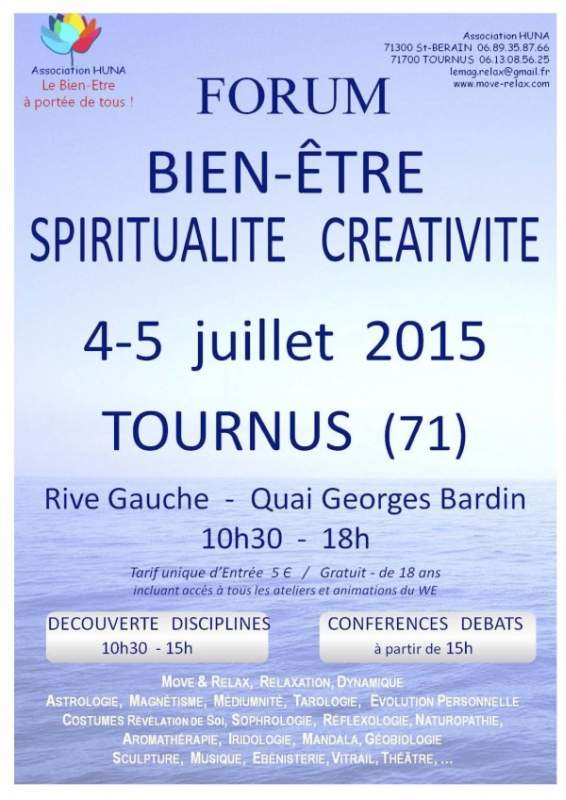 forum bien-etre spiritualite tournus
