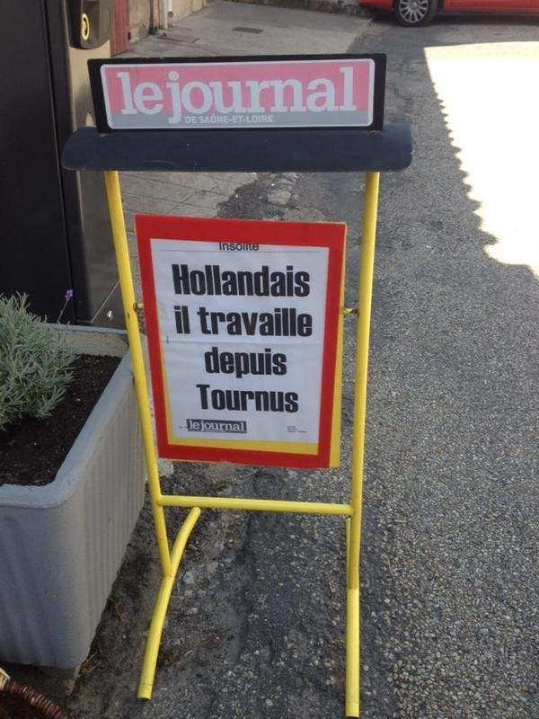 Hollandais à Tournus