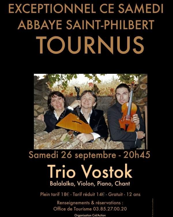 Trio Vostok Abbaye Saint Philibert