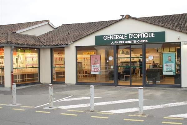 Le nouveau magasin Générale d'Optique, C.C. Carrefour Market à Tournus.