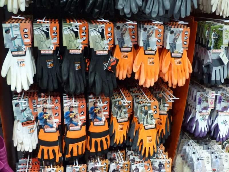 Vêtements de travail - gants de protection