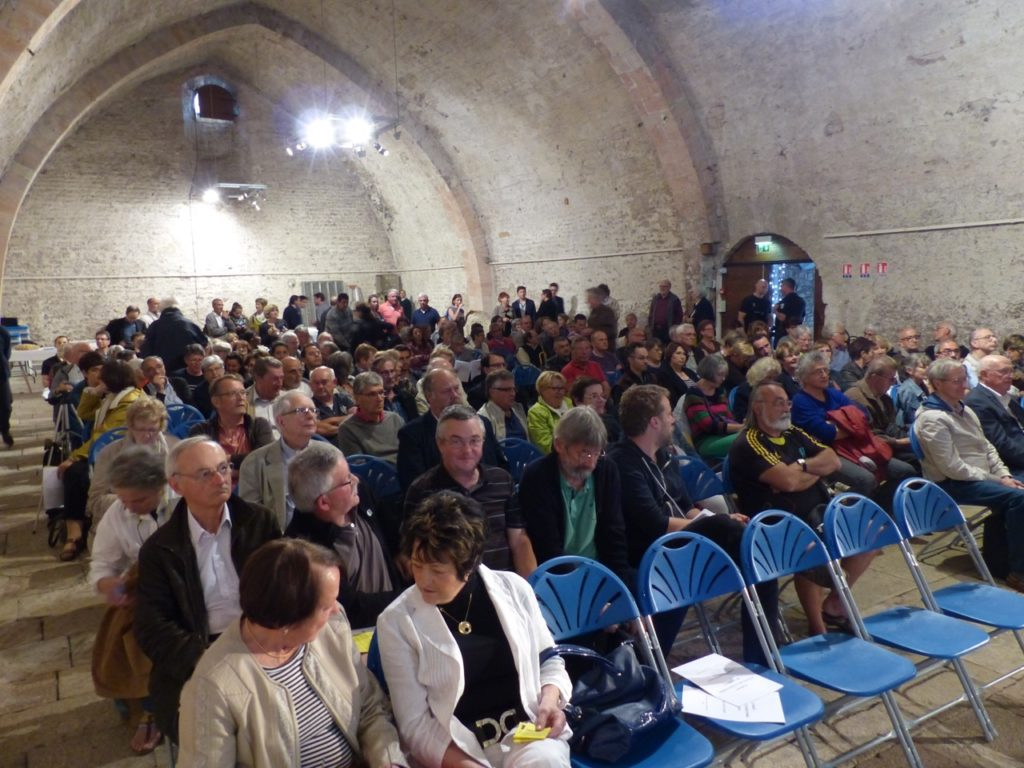 réunion public dévellopement de Tournus