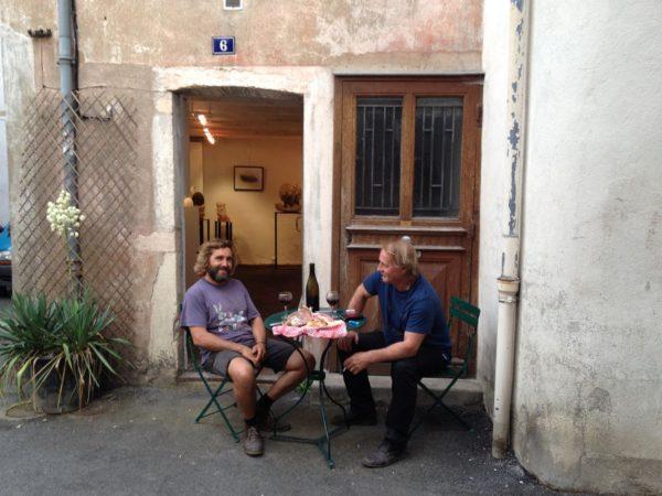 Bernard husson et copain portugais