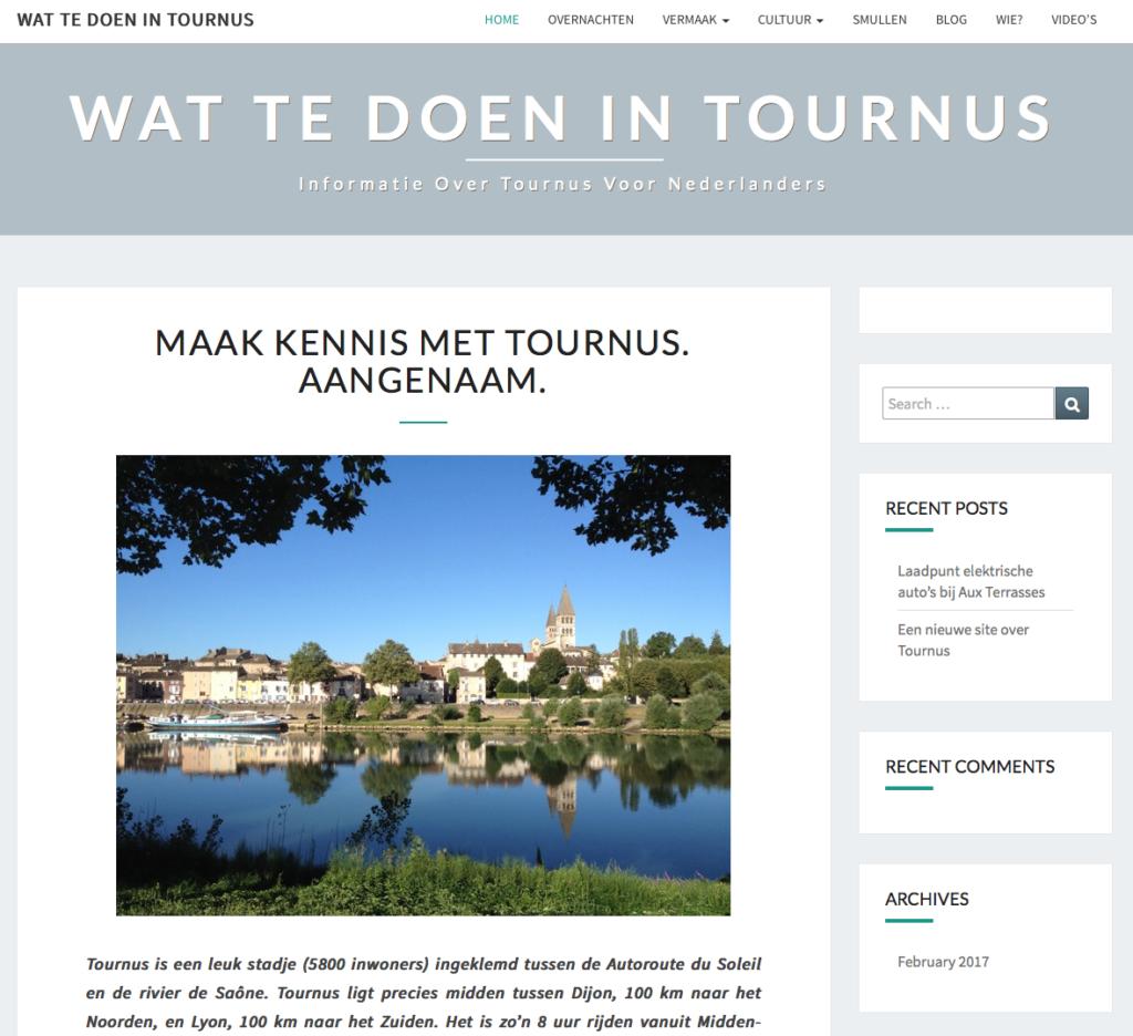 site information tournus pour les néerlandais
