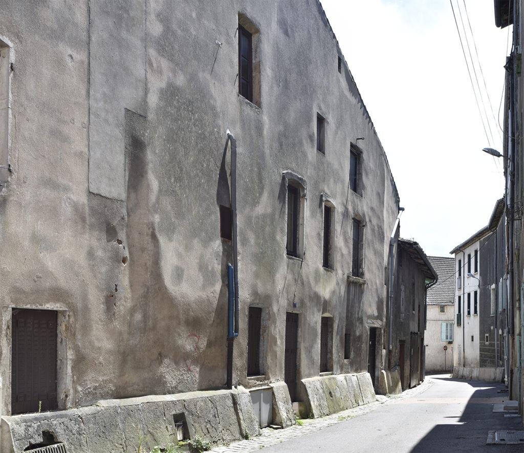Une rue à Tournus par photographe Michael Dohle