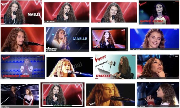 Maëlle The Voice chanteuse de Tournus