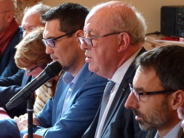 Claude Roche premier jour en opposition